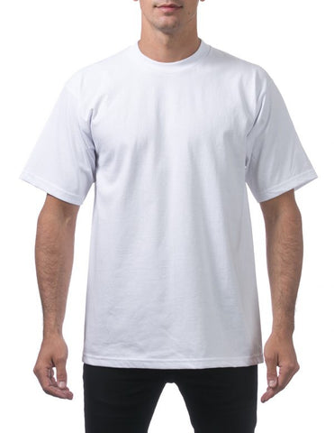 Pro Club Heavy Weight Short Sleeve Tee Shirts White