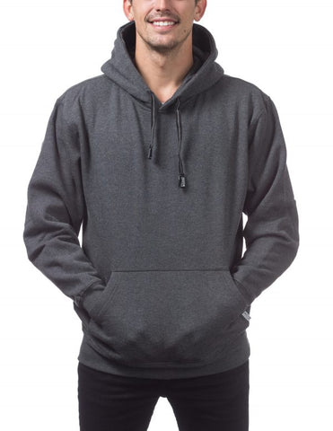 Pro Club Pull Over Hoodie Charcoal