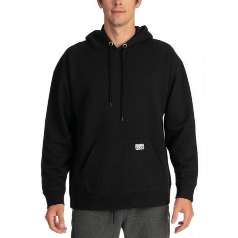 Pro Club Men's Heavyweight French Terry Hooded Pullover Sweatshirt BLACK