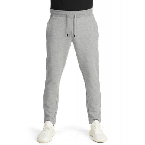 Pro Club Men's Heavyweight French Terry Zipper Bottom Sweatpant LIGHT GREY