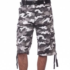 PRO CLUB  Twill Cargo Shorts CITY CAMO
