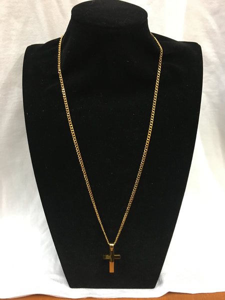 Gold colour Cross Chain