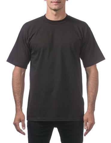 Pro Club Heavy Weight  Short Sleeve Tee Shirts BLACK