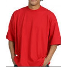 Pro Club Heavy Weight Tall Shorts Sleeve T-Shirt Red