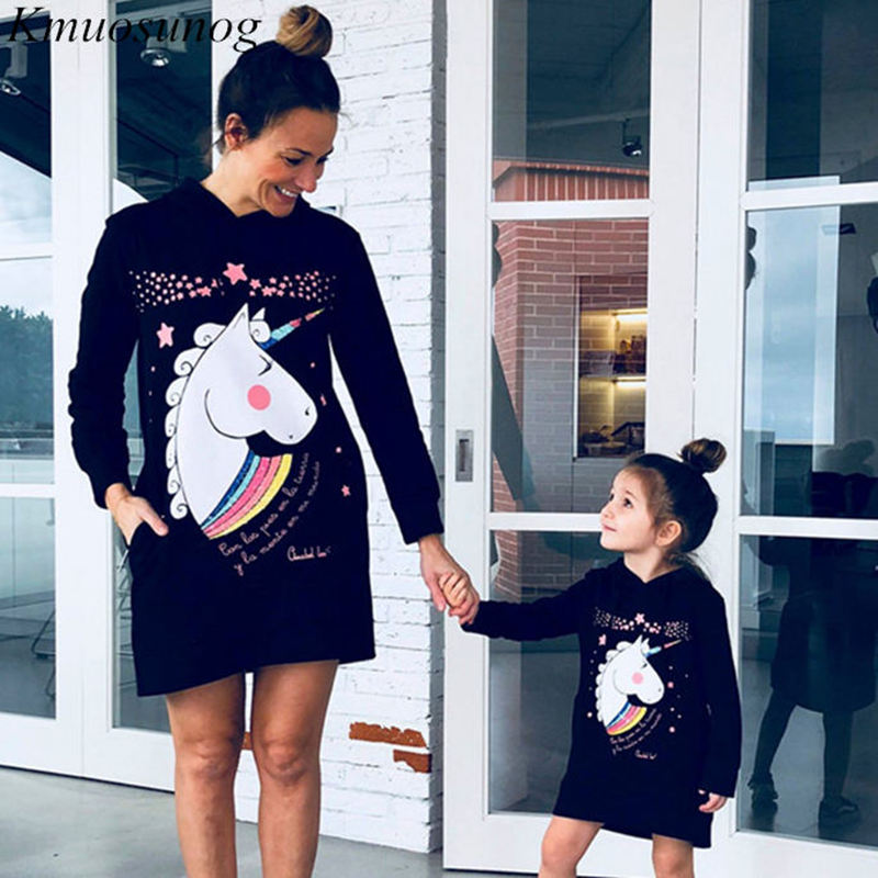 MOMMY AND ME UNICORN DRESS