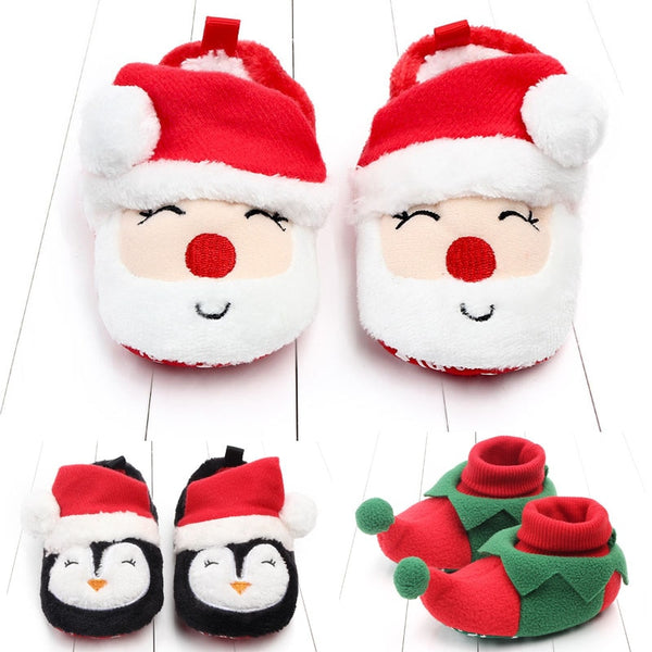 CHRISTMAS BABY SHOES