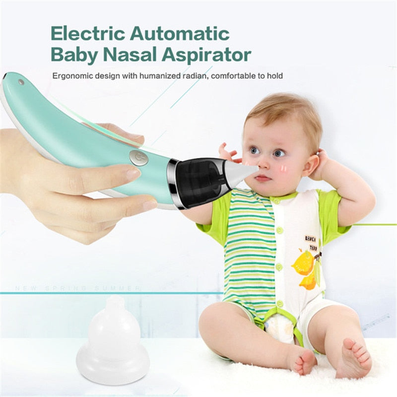 Baby Nasal Aspirator Electric Safe Hygienic Nose Cleaner With 2 Sizes Of Nose Tips And Oral Snot Sucker For Newborns Boy Girls, ,- Ryan N Riley
