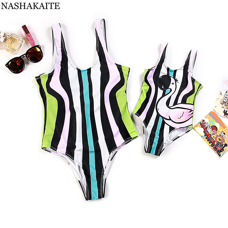 FAMILY STRIPED SWIMWEAR