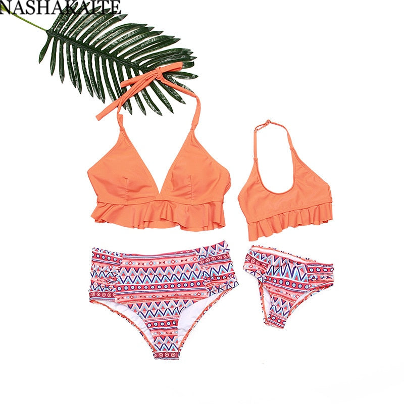 FAMILY BOHEMIAN WAVE SWIMWEAR