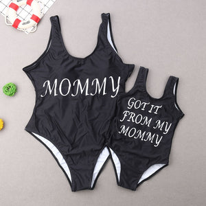 FAMILY MATCHY SWIMWEAR