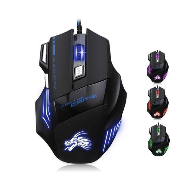 5500 DPI Dragon Wired Gaming Mouse