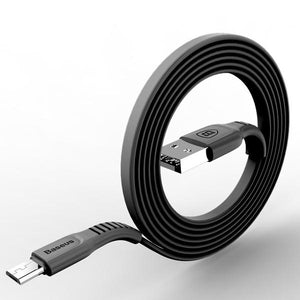 Baseus™ Flat Micro USB Cable Android Phone Charger