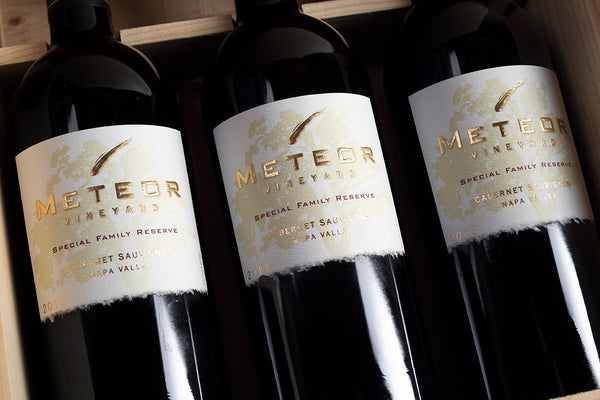 2013 Meteor Vineyard Special Family Reserve 3 Pack