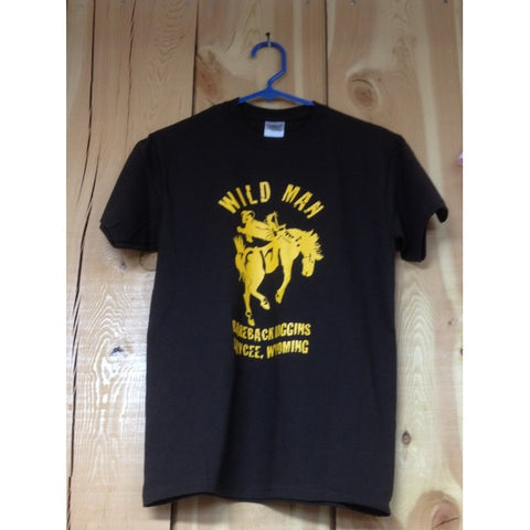 Wild Man Short Sleeve T-Shirt