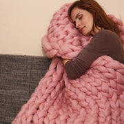 Handmade Giant Knit Throw - Innolv