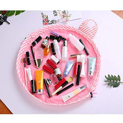 Multifunctional Waterproof Toiletry Bags Makeup Brushes Storage Organizer