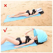 Portable Adjustable Beach Sun Shade Canopy - Innolv