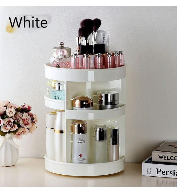 360° rotating Crystal Cosmetic storage box - Innolv