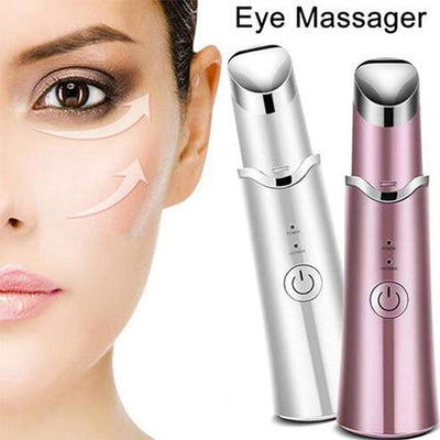 Heated Vibrating Ionic Heating Eye Massage Instrument Beauty Instrument for Anti Wrinkles Dark Circles of Skin Care - Innolv
