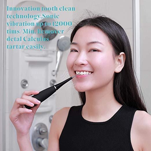 New Teeth Stain Remover - Electric Dental Calculus Cleaning Tool - Plaque Removal - Innolv
