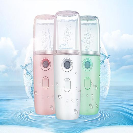Beauty Steaming Face USB Charging Portable Nano Spray Hand-held Water Meter for Family, Yoga, Office, Spa - Innolv