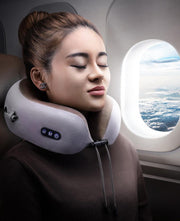 Electric U Shape Neck Massage Pillow Cervical Support Shoulder Pain Relief Vibration Magnetic Therapy Massager - Innolv
