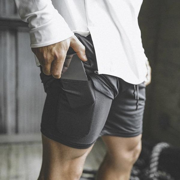 2-in-1 Secure Pocket Shorts - Innolv