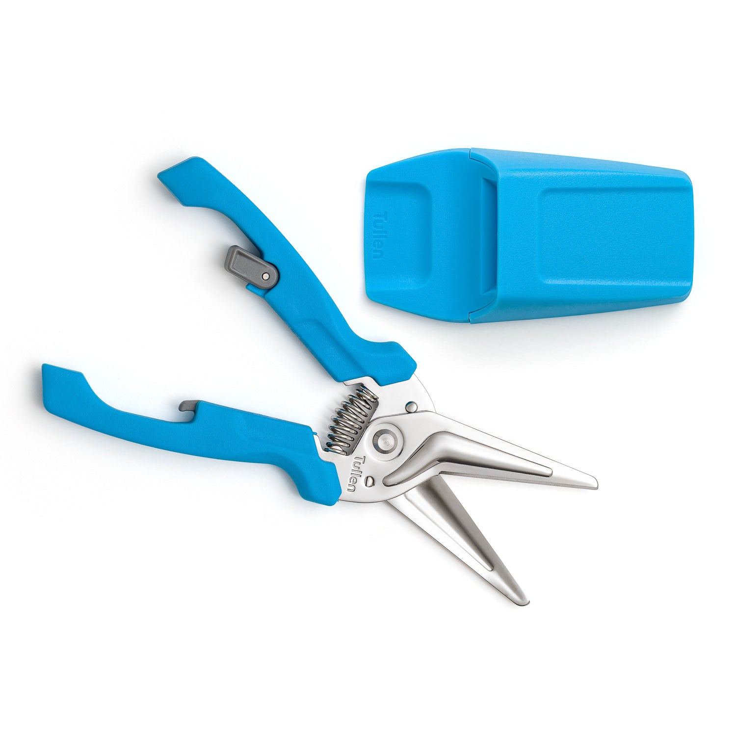 Tullen Snips - Blue with Holder