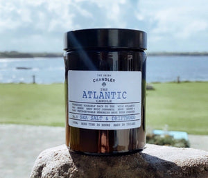 The Irish Chandler, all of their soy candles are designed, hand-poured and shipped from the 'Wild' West of Ireland. Available to purchase from the Armada Hotel, Co Clare.