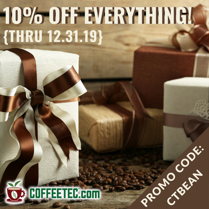 Finish 2019 Strong With Savings Up to 31% On CoffeeTec.com