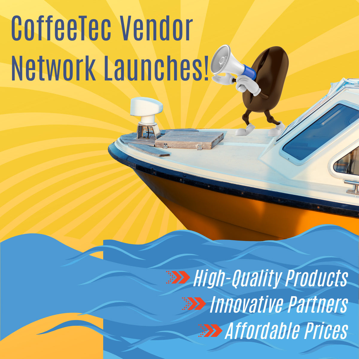 CoffeeTec Vendor Network Launches