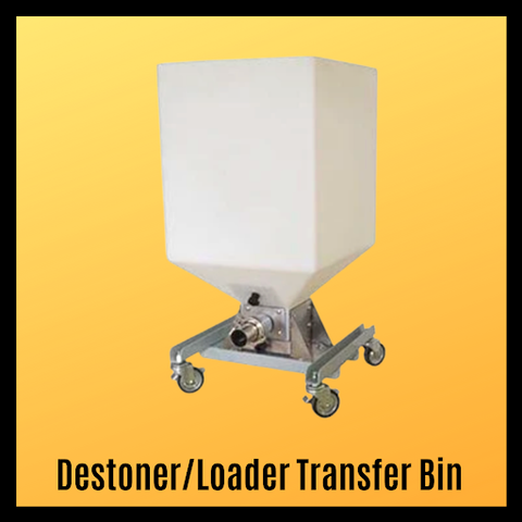Destoner/Loader Transfer Bin
