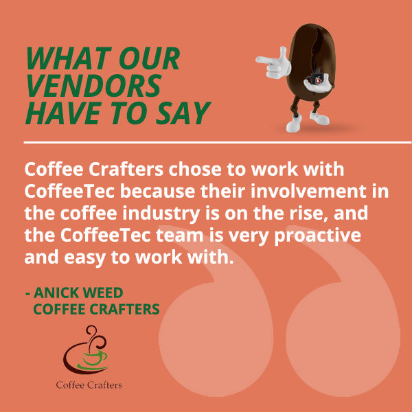 Coffee Crafters Quote