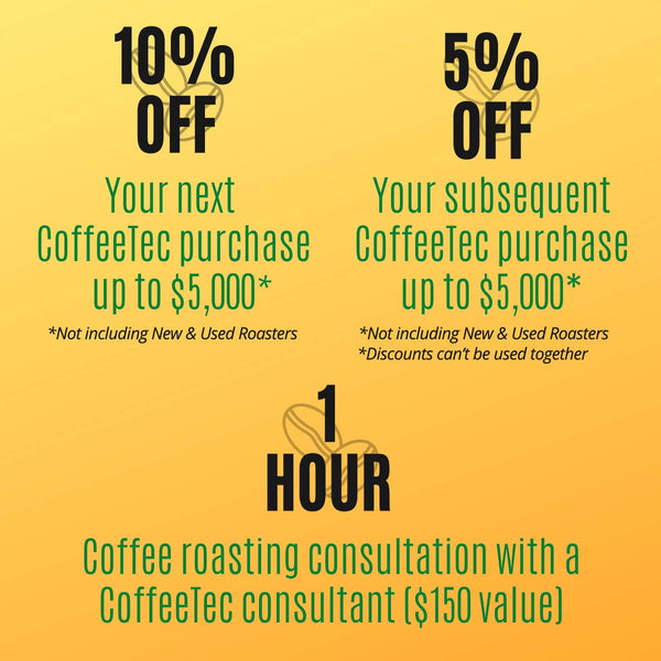 CoffeeTec Bonus Benefits