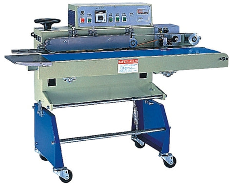 Heavy Load Horizontal  Band Sealer Left to Right
