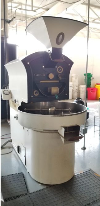 15 kilo: Giesen W15 Roaster with Afterburner