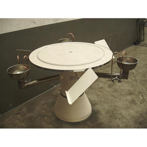 Fully Plumbed Cupping Table