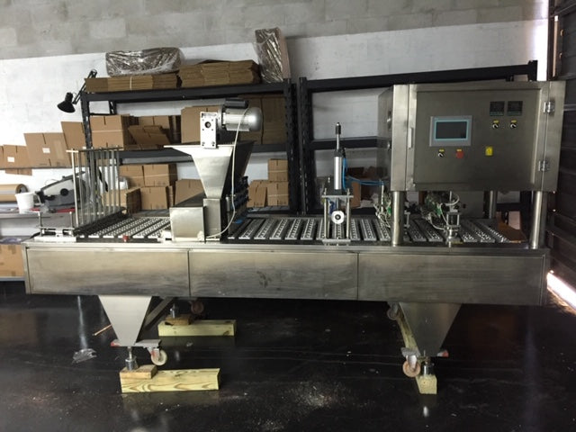 Nespresso Filling & Sealing Machine - 8 Lanes
