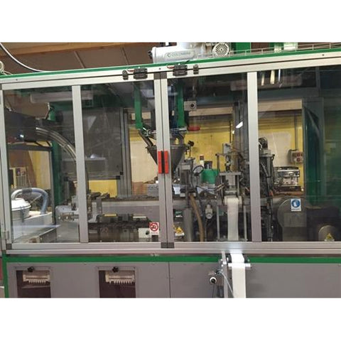 Used Seram/Mapster Capsule Filling Packaging Coffee Line