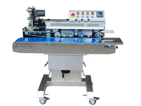 Horizontal Band Sealer Medium Bag with Tilting Head