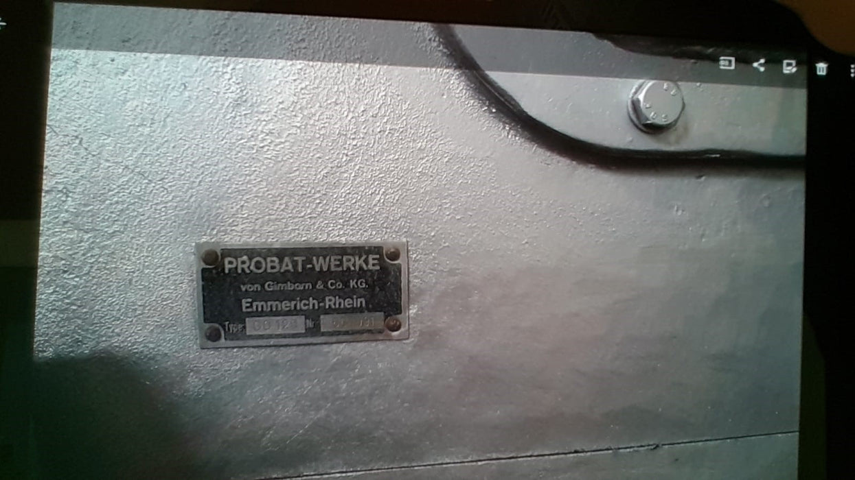 75 Kilo: Probat G75 AND G120 Roasting Plant