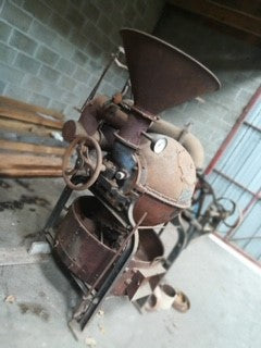 15 kg Antique Ball Roaster for Cocoa or Coffee - very rare