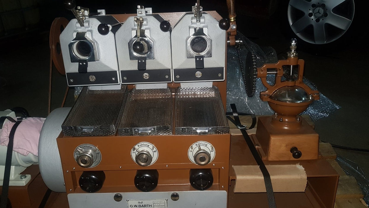 SR: Barth Electro 3 Barrel Sample Roaster - Rebuilt