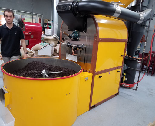 50 kilo: Diedrich CRS-50 Manual Commercial Roaster with Cyclone - great condition