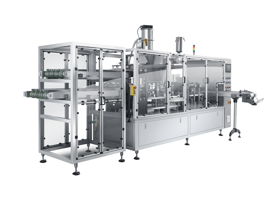 Multi- Lane High Speed Automatic K-cup Filling and Sealing Machine