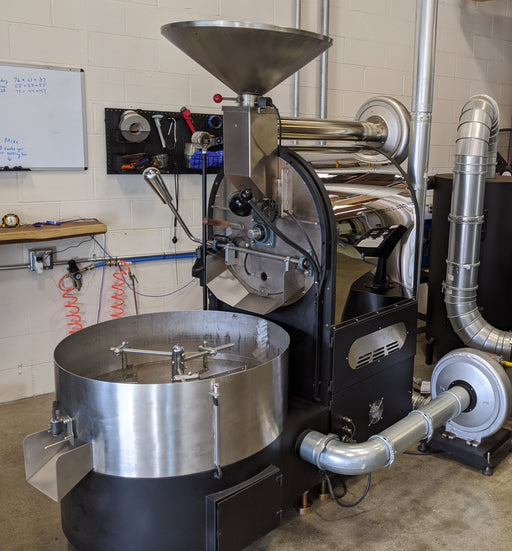 20 Kilo: Mill City Roaster with Chaff Cyclone - ships immediately!