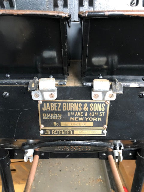 SR: Antique Jabez Burns Sample Roaster - Used, From Early 1900s!