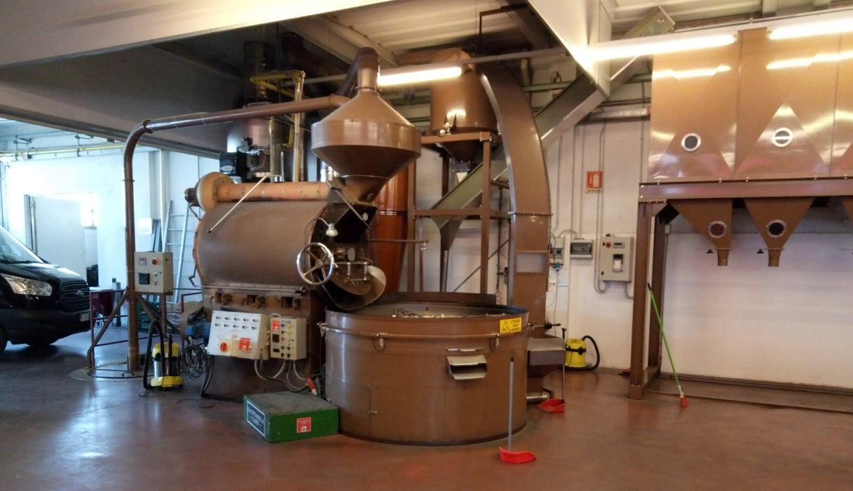 120 kilo: Petroncini Manual Roaster - Used