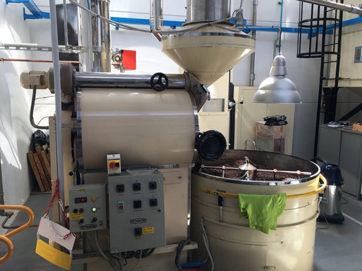 30 kilo: Petrocini Roaster with Afterburner, and Destoner - Used
