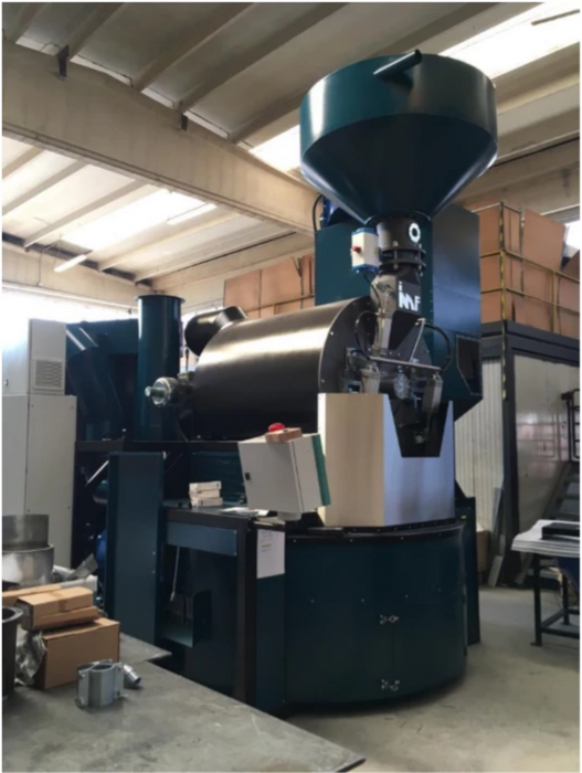 240 kilo: IMF RM-240 Roaster Fully Automatic Plant with Green Silos (New)